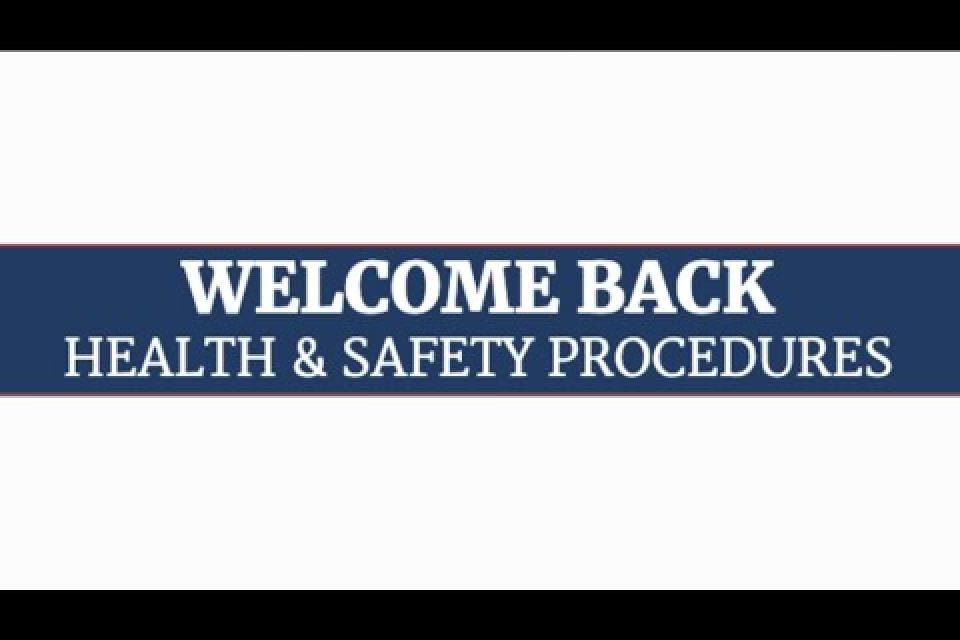RCSD Welcome Back Safety Video