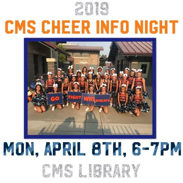 Chilton Cheer Information Night